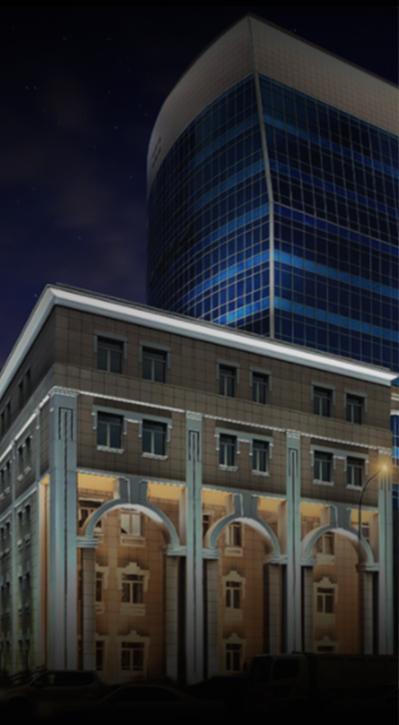 подсветка здания ТГМУ