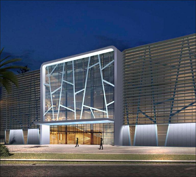 архитектурное освещение академия единоборств сочи