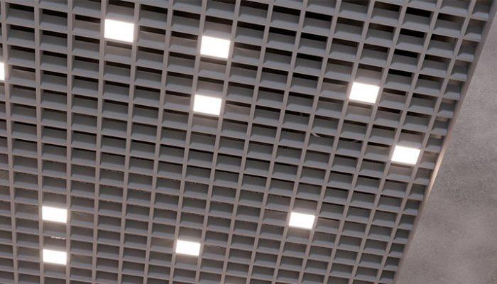 CHECKERS DIFF светильник для реечных потолков