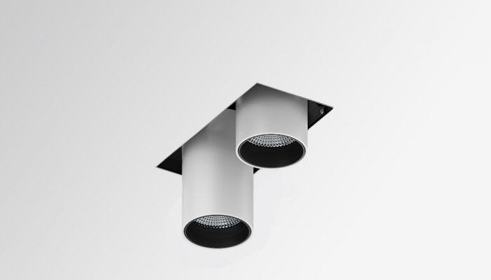 CROSS Выдвижной карданный светодиодный встраиваемый светильник
