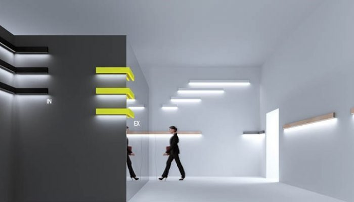 INI LED 05 WALL накладной светильник