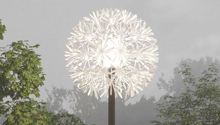 ODUONE садово-парковые светильник