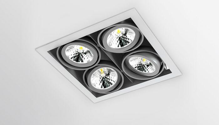 SOFIT Карданный светодиодный встраиваемый светильник