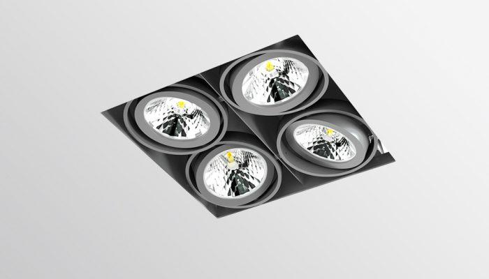 SOFIT VZ Карданный светодиодный встраиваемый светильник